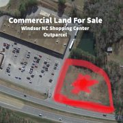 New Real Estate Listing - Windsor NC Shopping Center Outparcel