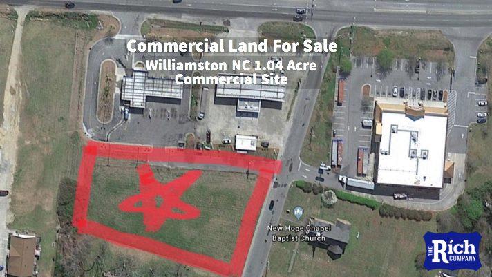Commercial Land For Sale | Windsor NC Shopping Center Outparcel