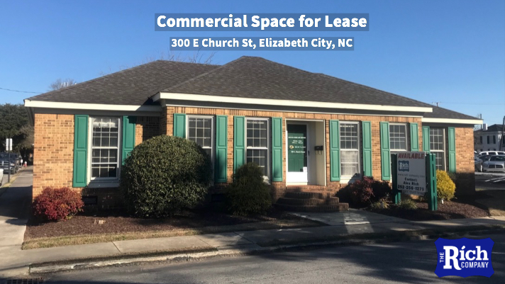 Commercial Space for Lease - 300 E Church St, Elizabeth City, NC