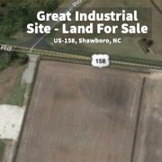 Land For Sale - Great Industrial Site on US-158, Shawboro, NC