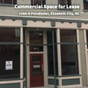 New Commercial Space for Lease in Downtown Elizabeth City