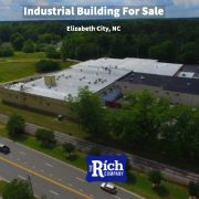Commercial Building For Sale [Industrial Building] 621 W. Broad Elizabeth City, NC