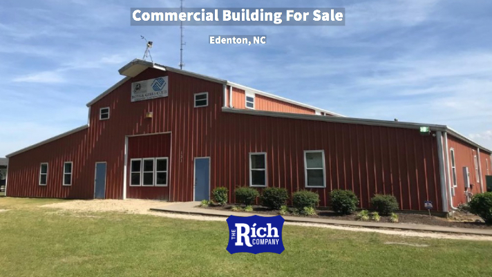 Commercial Building For Sale [Scenic 8 Acres] Edenton, NC