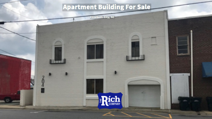 Commercial Building For Sale [Apartment Building] Elizabeth City, NC