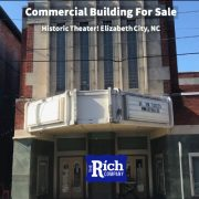 Commercial Building For Sale • Historic Theater • Elizabeth City, NC