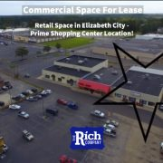 Commercial Space For Lease - Retail Space in Elizabeth City - Prime Shopping Center Location!