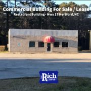 Commercial Building For Sale / Lease • Restaurant Building - Hwy 17 Hertford, NC