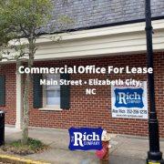 CommercialOffice Space For Lease - Main St, Elizabeth City NC