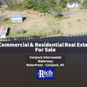 Rich Company -Real Estate For Sale • Commercial Building & Home For Sale - Coinjock Intercoastal Waterway Waterfront - Coinjock, NC