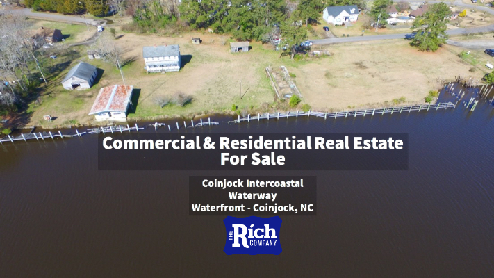 Rich Company -Real Estate For Sale •Commercial Building & Home For Sale - Coinjock Intercoastal Waterway Waterfront - Coinjock, NC
