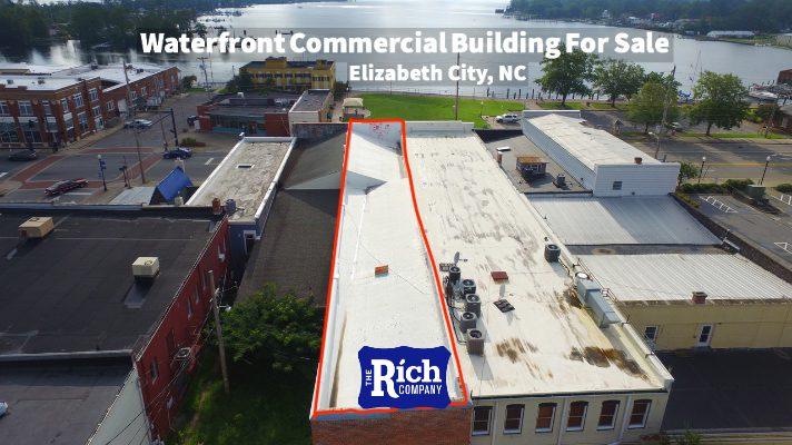 Commercial Building For Sale • Waterfront • Elizabeth City, NC