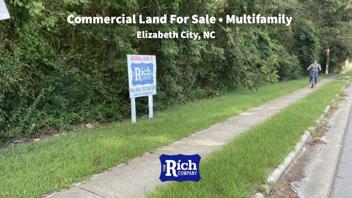 Commercial Land For Sale •Multifamily- Elizabeth City NC