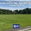 Commercial Land For Sale •Rich Blvd -5 Acres - Elizabeth City NC