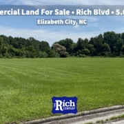 Commercial Land For Sale • Rich Blvd -5 Acres - Elizabeth City NC