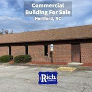 Commercial Building For Sale • Medical Building / Office | Hertford, NC