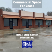 Commercial Space For Lease - Retail Strip Center Edenton, NC