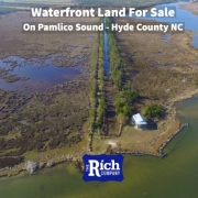 Waterfront Land For Sale on Pamlico Sound | Hunting & Fishing - Hyde County NC