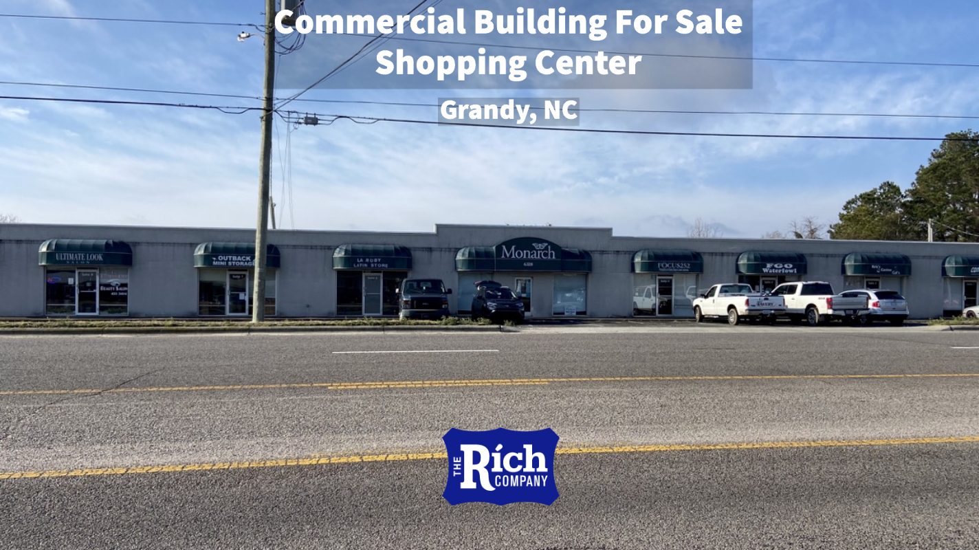Commercial Building For Sale • Shopping Center • Grandy, NC