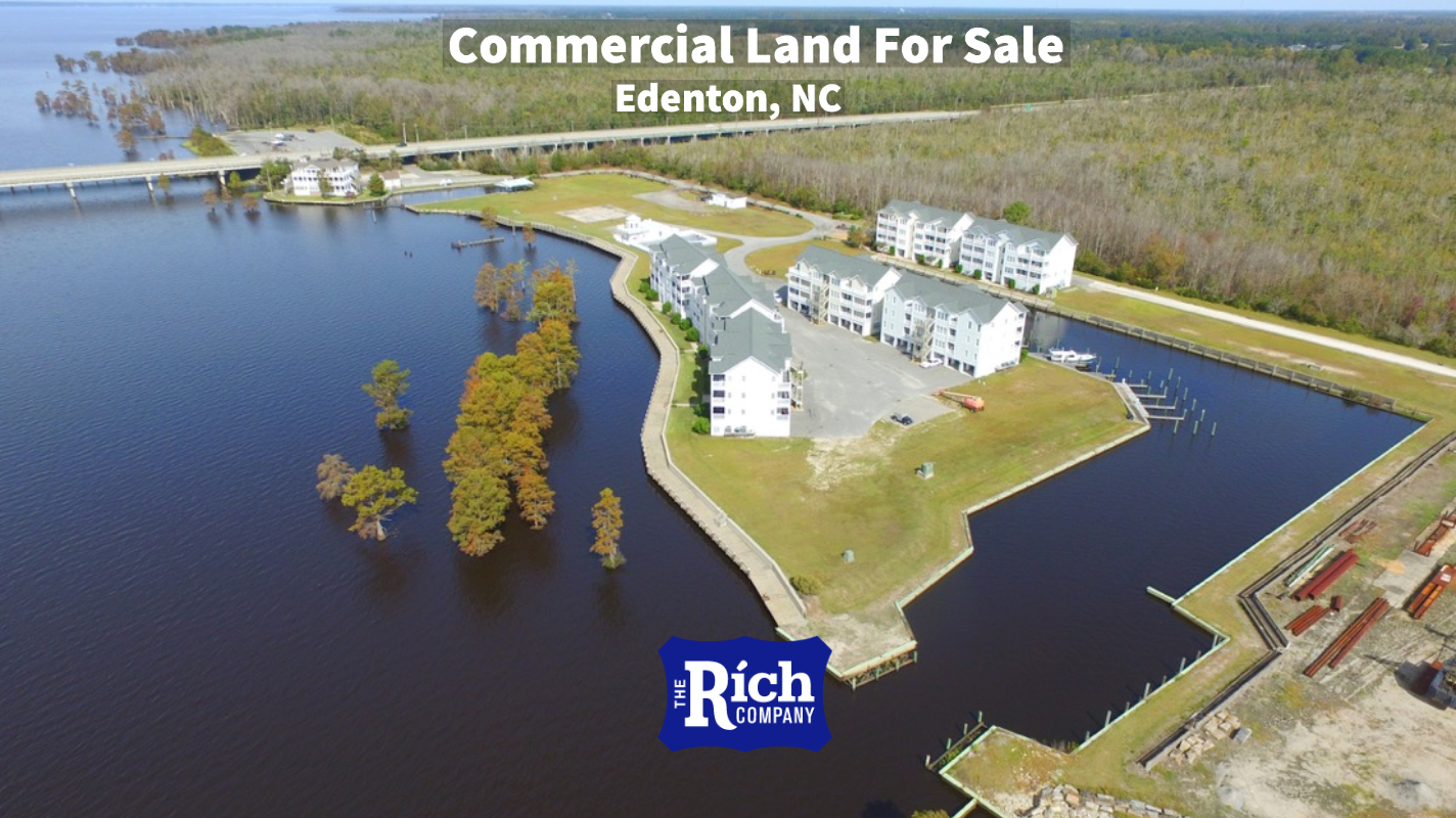 Commercial Land For Sale - Waterfront Condo Development | Edenton NC